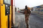 اقدامات قرارگاه پدافند زیستی سپاه سمیرم برای مقابله با «کرونا»