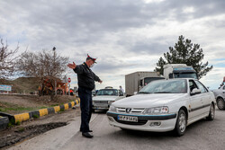 برگشت۶هزار و۷۰۰خودروپلاک شهرستان ازورودی وخروجی های تهران به مبدا
