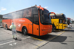 Bus terminal, residential sites in east Tehran disinfected