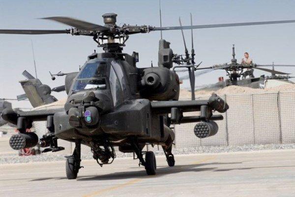 حضور گسترده بالگردهای آپاچی در عراق/ احتمال وقوع یک عملیات نظامی
