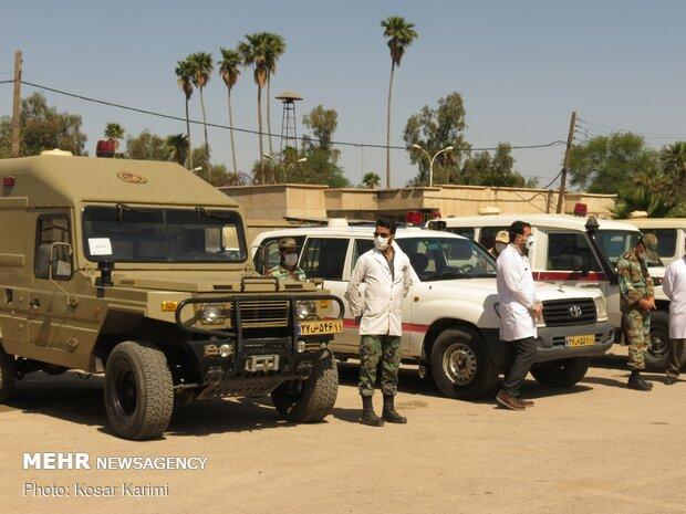 بهرهبرداری از نقاهتگاه ۱۵۰ تختخوابی ارتش در اهواز