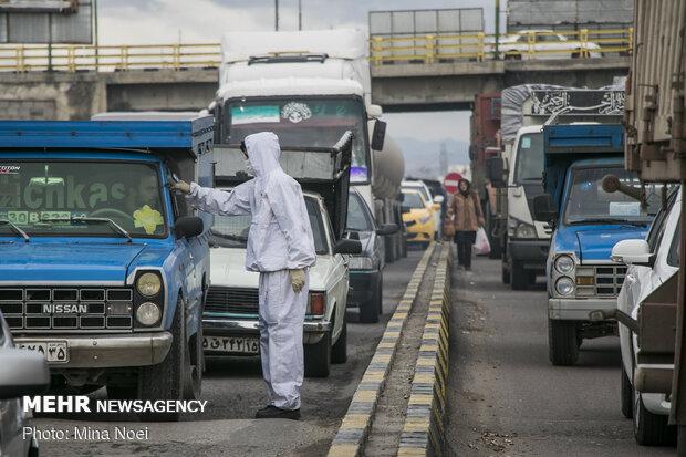 Tebriz kentinde giriş çıkışlar kontrol altında