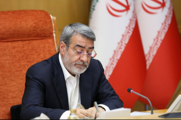 وزير الداخلية الإيراني: هناك مساعٍ لتقويض أمن الحدود من خلال دعم الجماعات الارهابية