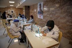 راه اندازی کارگاه های تولید ماسک و اقلام ضدکرونایی در استان ها