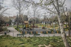 تہران کی پارکوں پر سناٹا اور خاموشی طاری