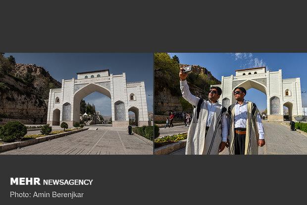نوروز 1399، دروازه قرآن شیراز جات خالی بود کاکو!