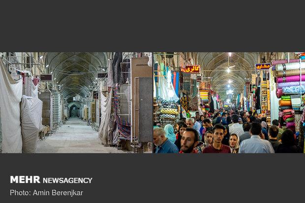 نوروز 1399، بازار وکیل شیراز جات خالی بود کاکو!