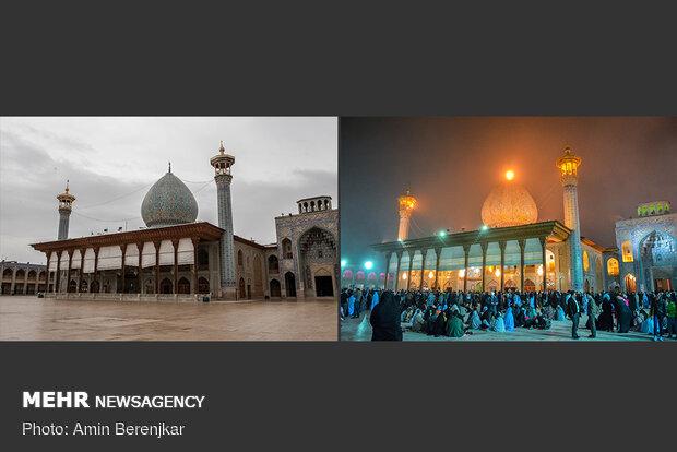 نوروز 1399، حرم حضرت شاهچراغ(ع) شیراز جات خالی بود کاکو!