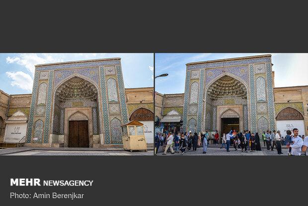 نوروز 1399، مسجد وکیل شیراز جات خالی بود کاکو!