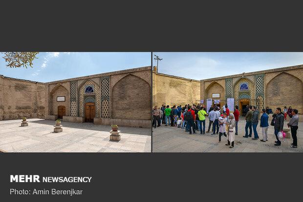نوروز 1399، حمام وکیل شیراز جات خالی بود کاکو!