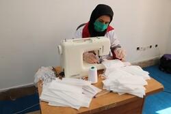 تولید روزانه ۶ هزار عدد ماسک در شهرستان مهران
