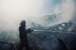 آتش سوزی در ورزشگاه شهید کشوری/جلال ملکی: تلفات نداشتیم
