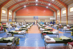 Army Ground Forces inaugurates mobile hospital in Tabriz