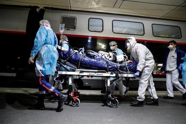 رشد ۱۰ درصدی قربانیان کرونا در فرانسه
