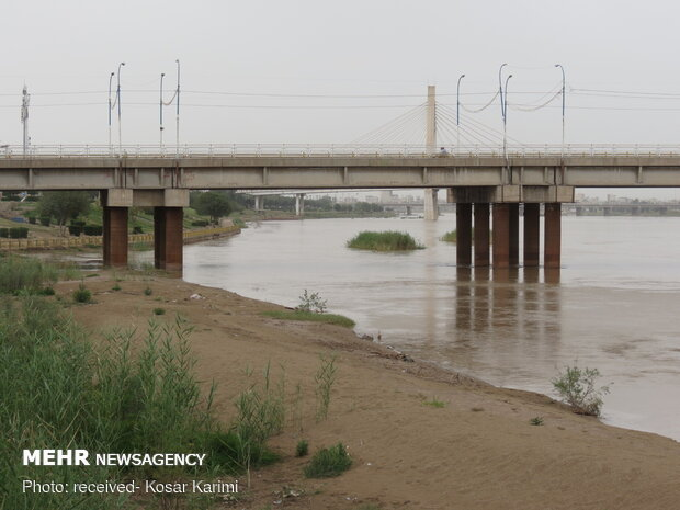 Ahvaz streets deserted under Covid-19 outbreak