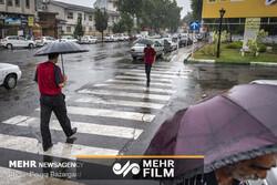 ادامه بارندگی ها در کشور
