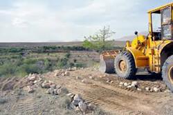 رفع تصرف ۴۰۰ متر مربع از اراضی ملی در ایلام