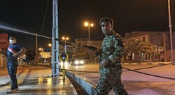 جهادی ها همچنان در حال فعالیت/ ضدعفونی معابر لامرد ادامه دارد