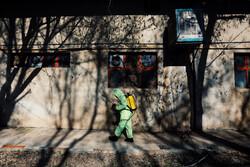 مصرف بالغ بر ۵۰۰ هزار لیتر مواد ضدعفونی کننده در شهرستان خوانسار