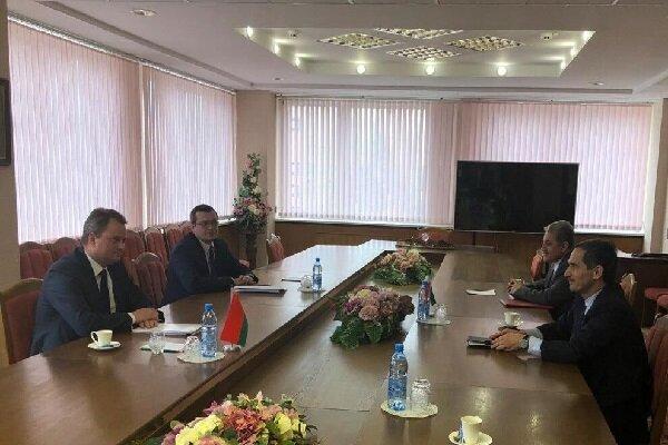 Tehran, Minsk discuss ways to boost economic cooperation