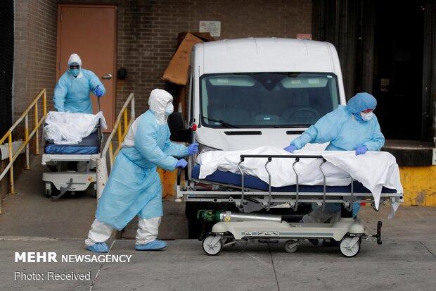 تلفات کرونا در نیویورک آمریکا بیش از ۴ هزار نفر شد