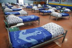 Bender Abbas'ta kovid-19 hastaları için geçici hastane kuruldu