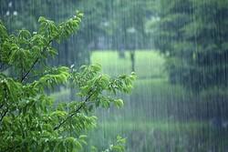 ادامه بارش ها در گلستان/ سرعت وزش باد به ۸۰ کیلومتر بر ساعت رسید