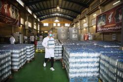 مرحله دوم توزیع ۱۵۰ هزار بطری محلول ضدعفونی کننده