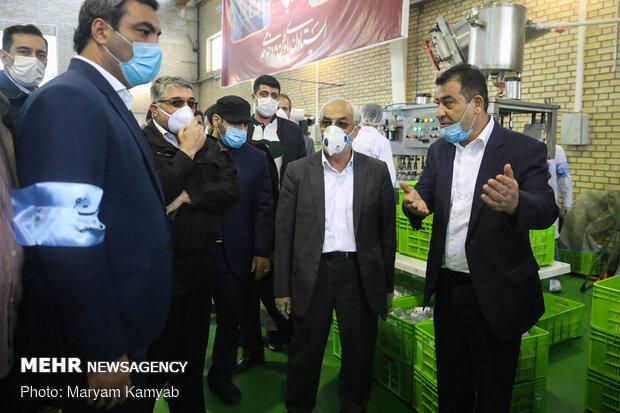 Distributing 150k bottles of hand sanitizer