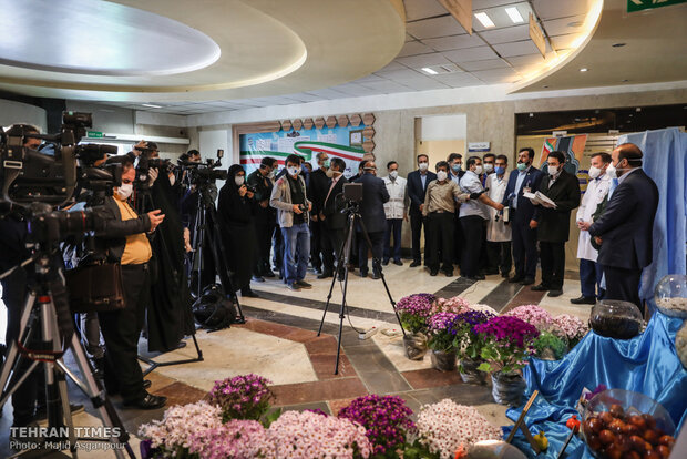 Iran unveils homegrown electro-optical system to monitor coronavirus patients