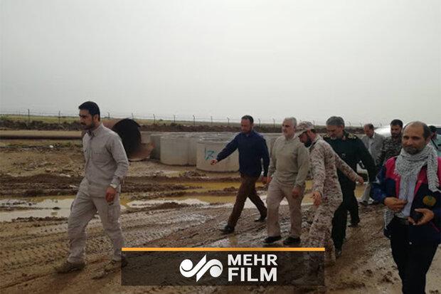 شہید قاسم سلیمانی نے داعش کے محاصرے کے علاقہ میں پہنچ کر لوگوں کی مدد کی