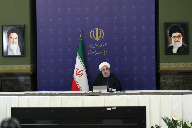 روحاني يدعو لاتخاذ التدابير اللازمة لتحريك عجلة اقتصاد البلاد بالتركيز على البروتوكولات الصحية