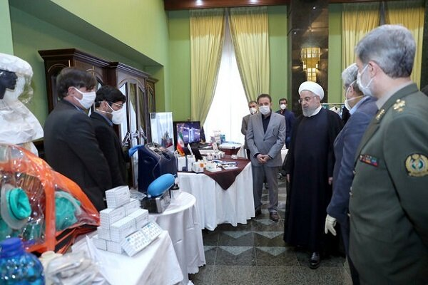 "Iranians' capabilities in fighting COVID-19 ""source of pride"": Pres. Rouhani"