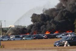 فلوریڈا میں ہزاروں گاڑیاں جل کر تباہ ہو  گئیں