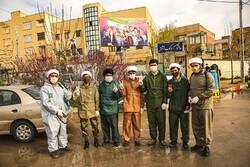 Bucnurd kentinde dezenfekte çalışmaları sürüyor