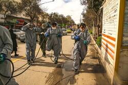 بجنورد میں بائیو لوجیکل دفاعی مشقیں جاری
