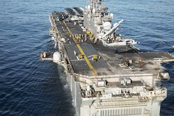 آمریکا یک «ناو جنگی» جدید وارد خلیج فارس کرد
