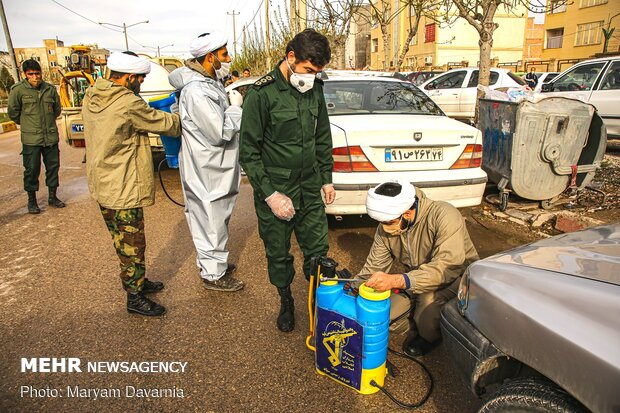 Nationwide Bio-Defense Drill marked in Bojnurd