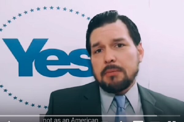 پیام رهبر جنبش استقلال ایالت کالیفرنیا آمریکا به مردم ایران
