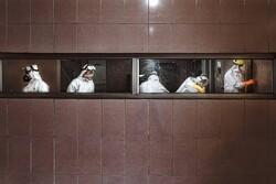 رشت کی عروجیان عمارت میں کورونا متوفیوں کو غسل دیا جاتا ہے