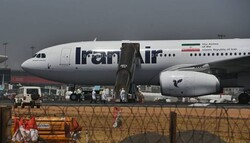 The aircraft carrying Indian passengers stranded in Iran landed at Mumbai airport. (Photo: Vijay Bate)
