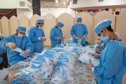 تولید ۲۰ هزار ماسک بهداشتی با حضور ۱۵۰ نیروی جهادی در شیراز