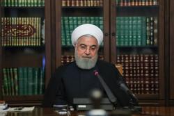 """ایرانی صدر کا """"  نور سیٹلائٹ """"  خلاء میں  بھیجنے پر سپاہ کے سائنسدانوں کا شکریہ"""