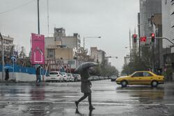 ثبت ۹۱.۱ میلیمتر بارش در شهر یاسوج