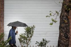 بارشهای رگباری پراکنده شمال اصفهان را در بر میگیرد