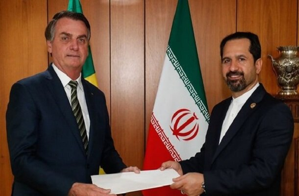 Iran's new envoy submits credentials to Brazilian president