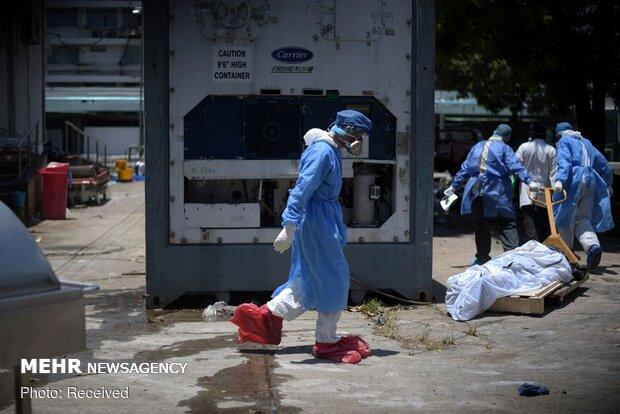 اجساد رها شده قربانیان کرونا در خیابان های اکوادور