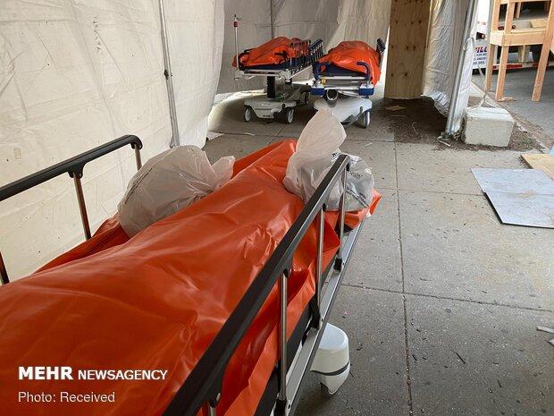 ABD'de koronavirüs: Hastaneler cesetlerle doldu taştı