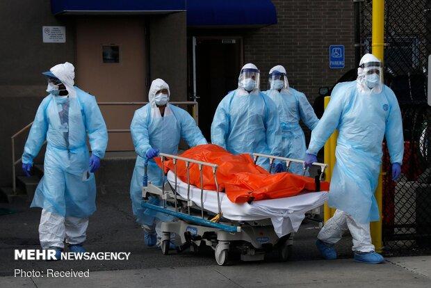 آمار قربانیان کرونا در آمریکا از ۹۷ هزار نفر گذشت
