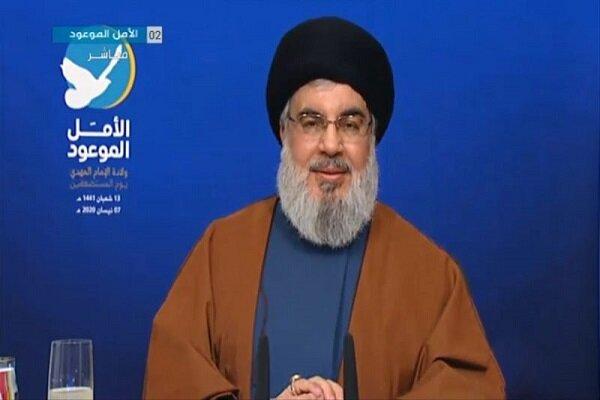 نصرالله: من واقع اخلاص الشهيد الصدر كان تأييده للثورة الاسلامية وللامام الخميني